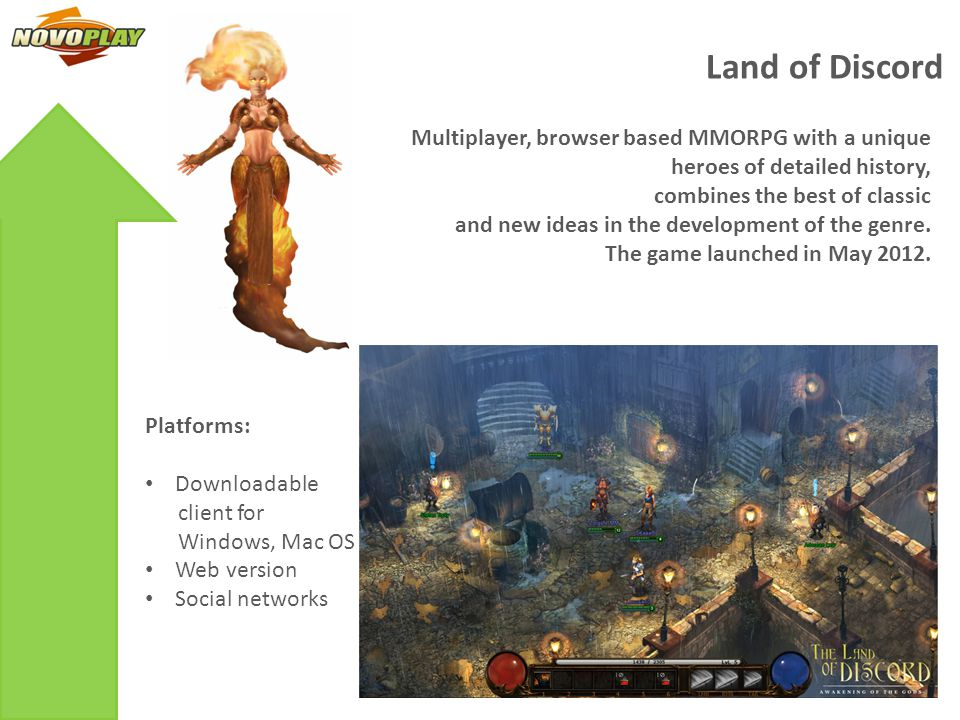 Innovative Browser based MMORPG with Free-PvP model and flexible combat system classless character development, unlimited opportunities to improve things.
