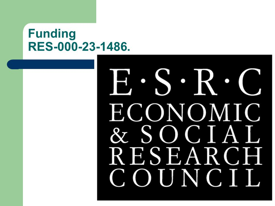 Funding RES-000-23-1486.