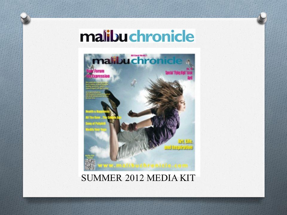 SUMMER 2012 MEDIA KIT