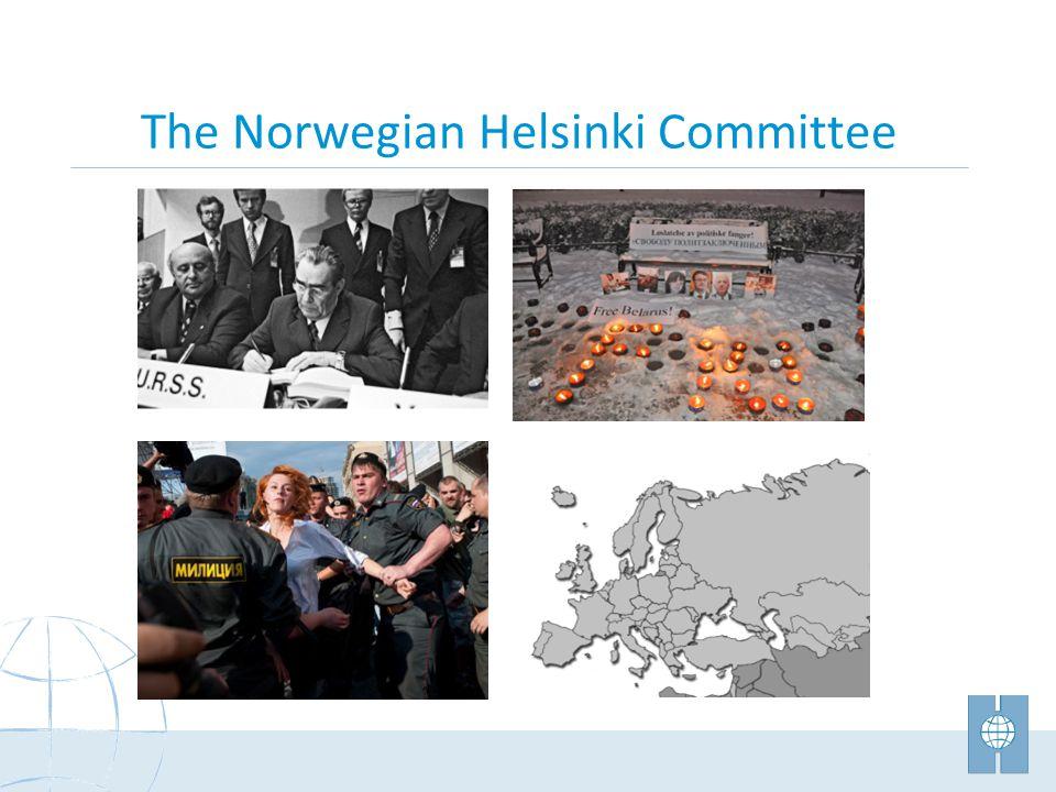 The Norwegian Helsinki Committee