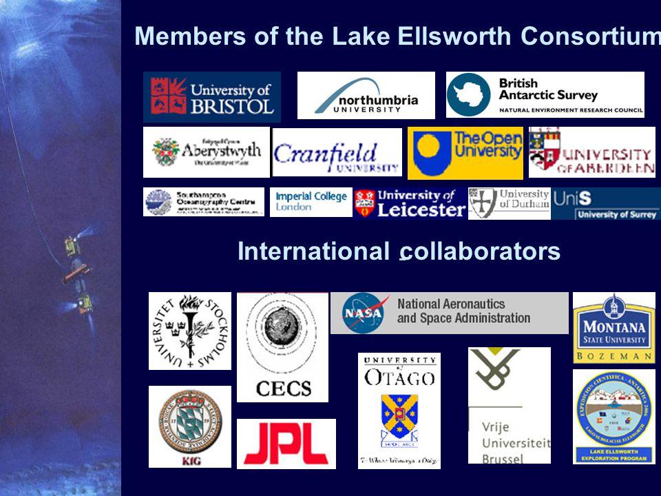 Members of the Lake Ellsworth Consortium International collaborators