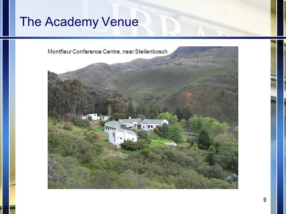 The Academy Venue Montfleur Conference Centre, near Stellenbosch 9