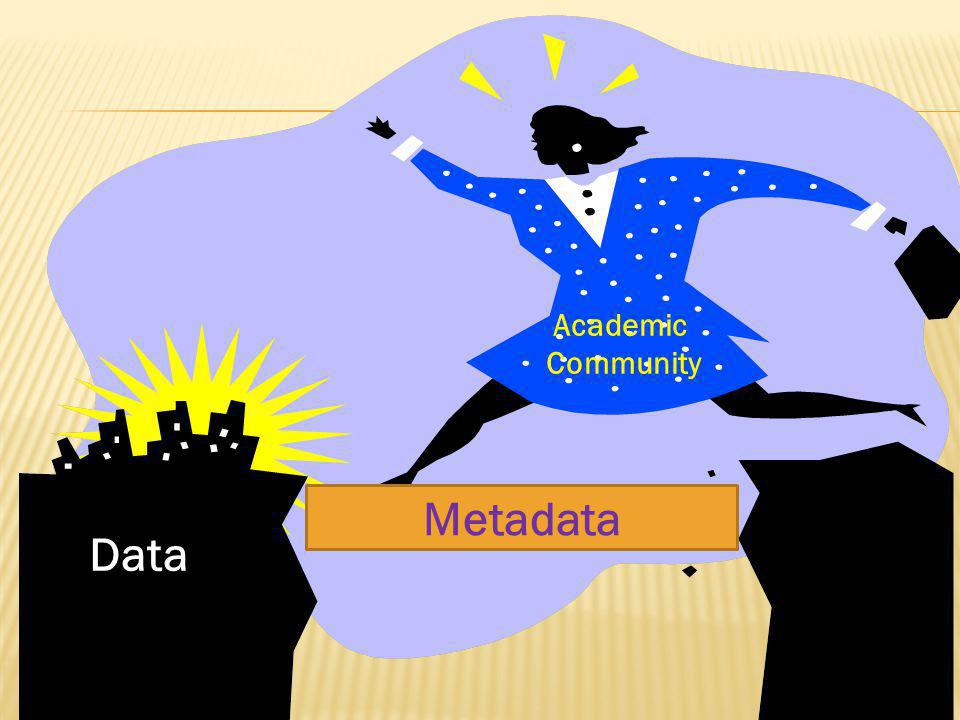 Metadata Data Academic Community