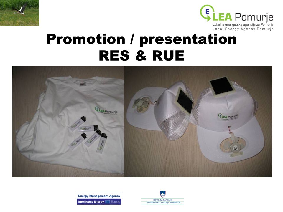 Promotion / presentation RES & RUE