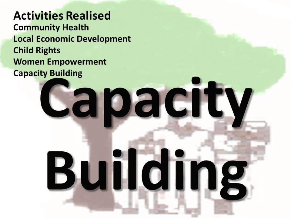 Community Health Local Economic Development Capacity Building Child Rights Women Empowerment