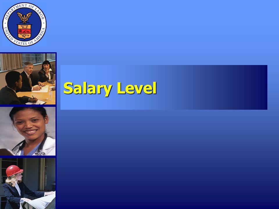 Salary Level