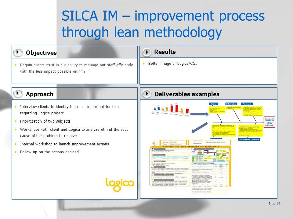 SILCA IM – improvement process through lean methodology No.