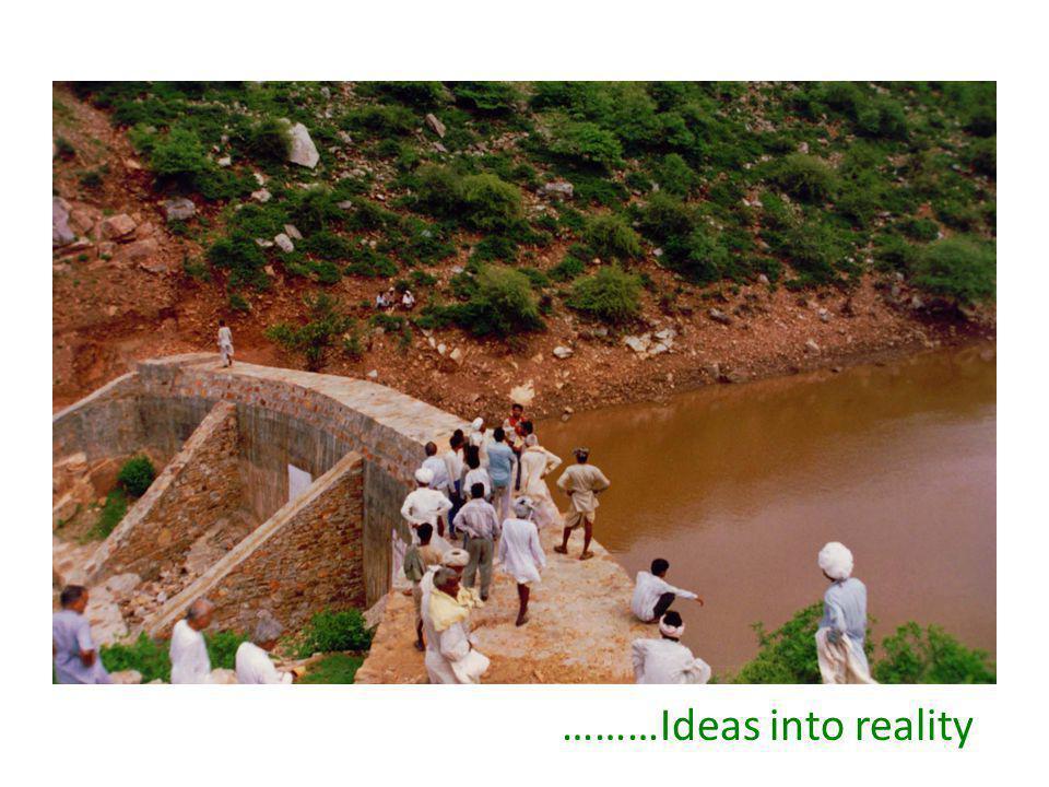………Ideas into reality