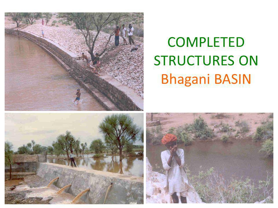 COMPLETED STRUCTURES ON Bhagani BASIN