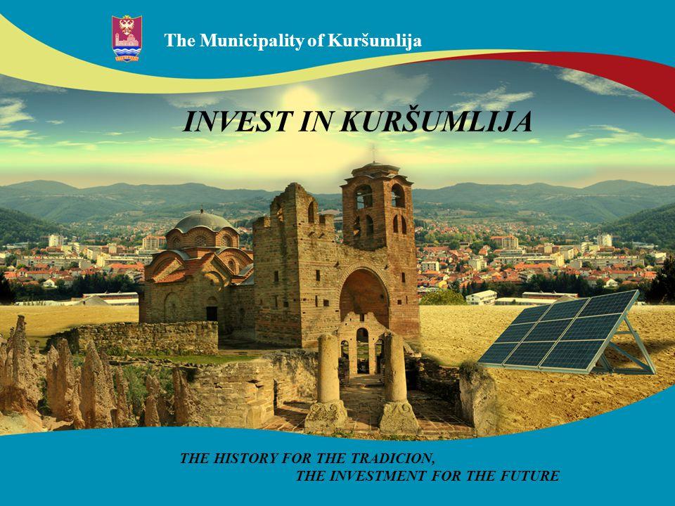The Municipality of Kuršumlija The Kursumlija community is located on the south of Serbia, in the area of Toplica.