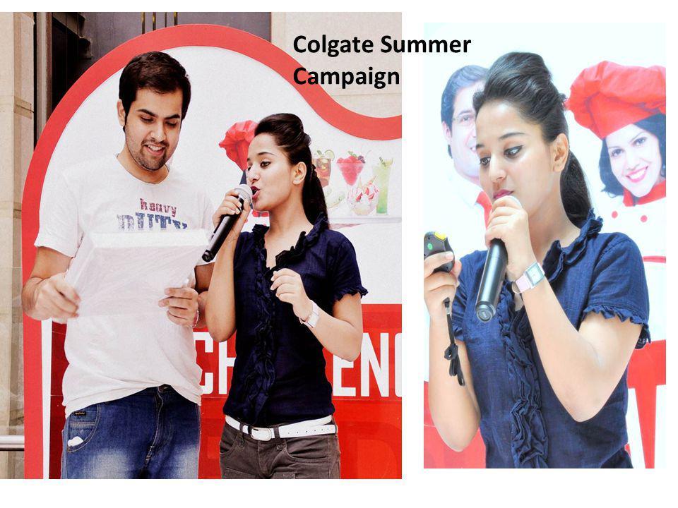 Colgate Summer Campaign