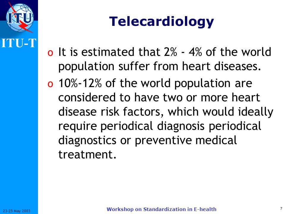 ITU-T 18 23-25 May 2003 Workshop on Standardization in E-health What is Telemedicine/E-health.