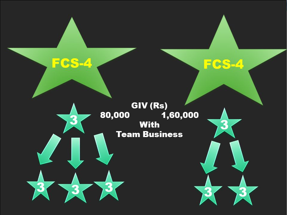 3 3 3 3 3 3 3 3 GIV (Rs) 80,000 1,60,000 With Team Business 3 3 3 3 3 3 FCS-4