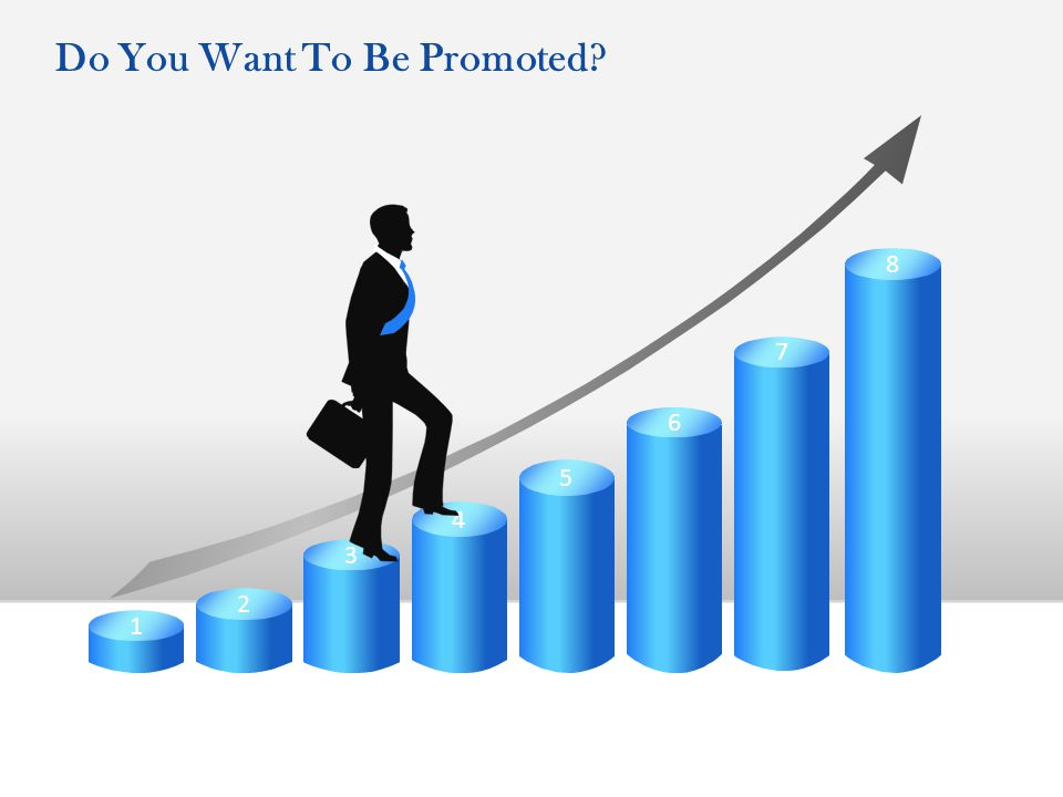 8 7 6 5 4 3 2 1 Do You Want To Be Promoted