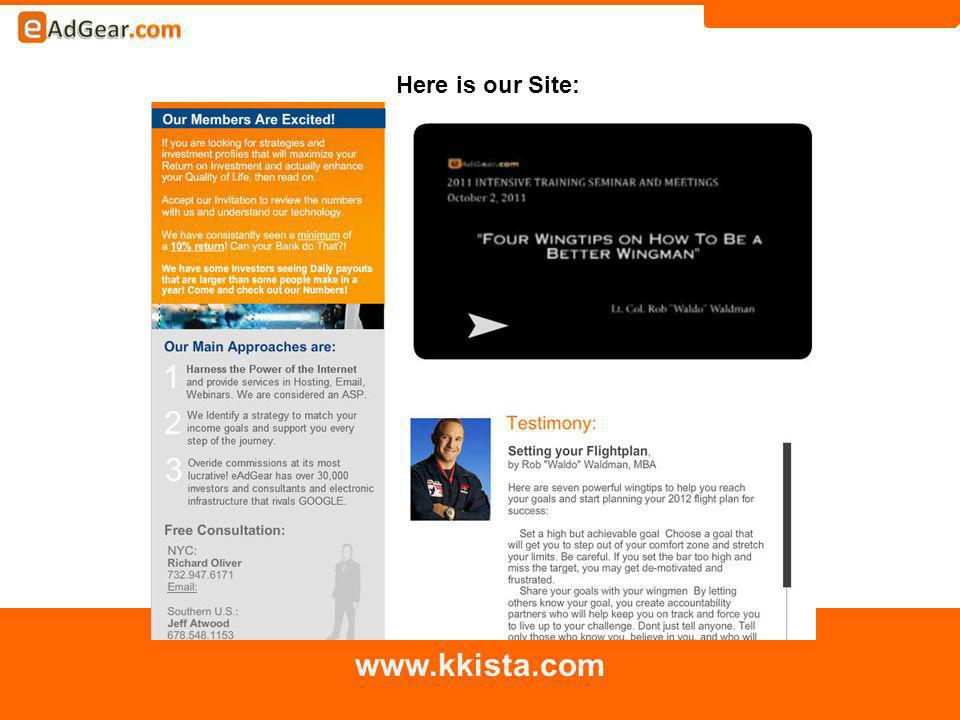 Here is our Site: www.kkista.com