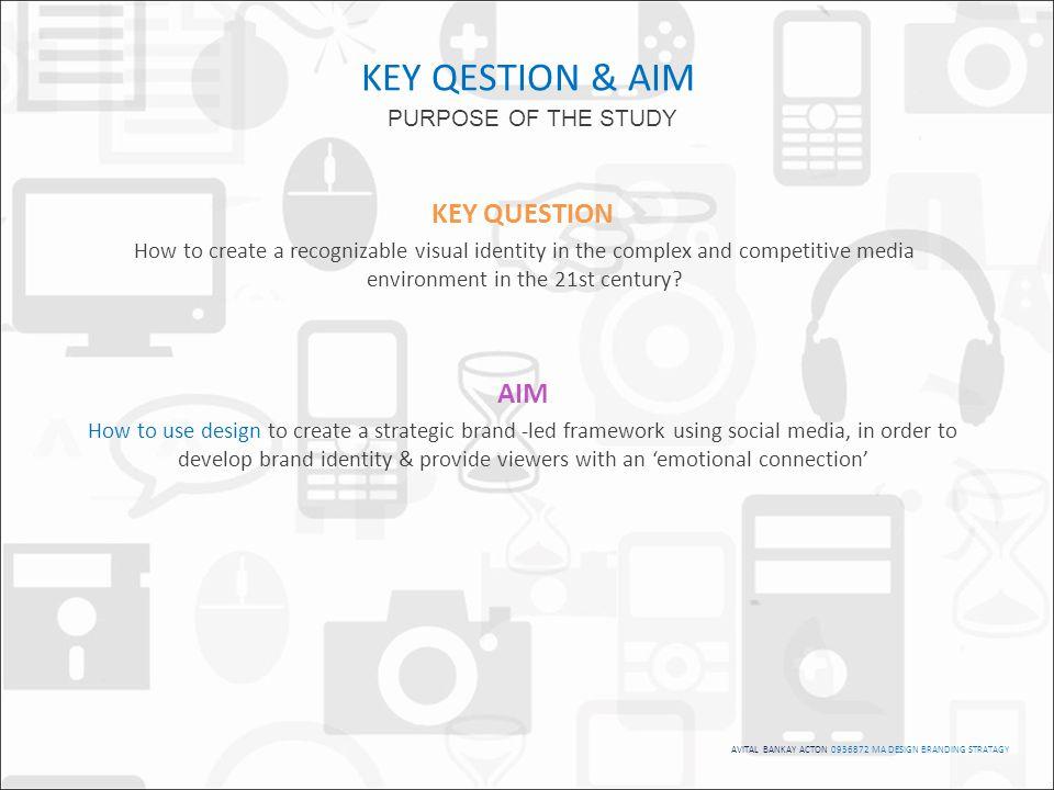 AVITAL BANKAY ACTON 0936872 MA DESIGN BRANDING STRATAGY The framework for the development of the outcome.