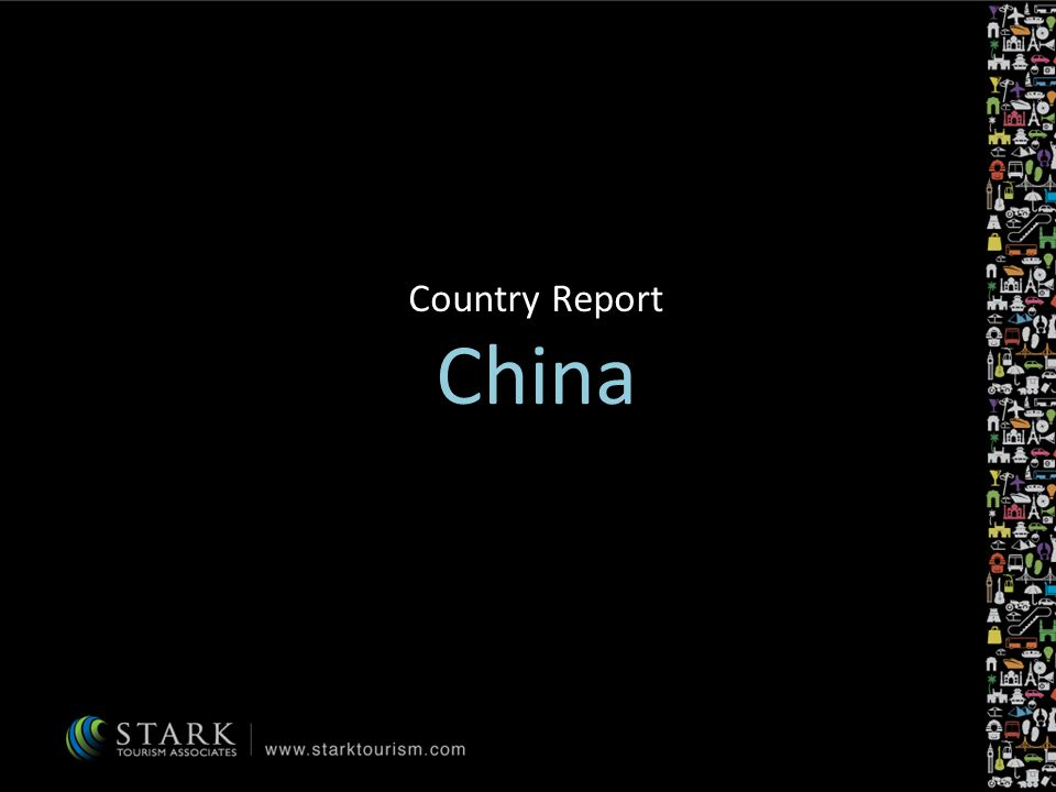 Forecast 10 year forecast20092019 Contribution of Travel & Tourism to Gross Domestic Product (GDP) 9.8% (CNY 2,993.7 bn or US$ 449.3 bn) 9.7% (CNY 9,679.2 bn or US$ 1,597 bn) Contribution of the Travel & Tourism economy to employment 7.8% (60,841,000 jobs or 1 in every 12.8 jobs) 10.1% (83,519,000 jobs or 1 in every 9.9 jobs) Real GDP growth for Travel & Tourism economy 0.6%9.2% Export earnings from international visitors and tourism goods6.5% (CNY 707.6 bn or US$ 106.2 bn) 6.2% (CNY 2,071 bn or US$ 341.7 bn) According to United Nations World Tourism Organisation, outbound travel from China will grow, possibly reaching 100 million outbound visits by 2020