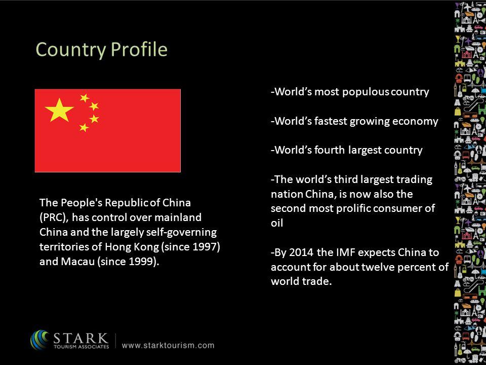 China Fact Sheet Official NamePeoples Republic of China (PRC) Conventional short formChina Capital CityBeijing AreaTotal: 9,596,961 sq km Country comparison to the world: 4 Population1,338,612,968 (July 2009 est.) Country comparison to the world: 1 Literacy90.9% GDP - per capita note: data are in 2008 US dollars $6000 (2008 est.) Country comparison to the world:133 $5,500 (2007 est.) $4,900 (2006 est.) Major LanguagesMandarin, Yue (Cantonese), Wu (Shanghainese), Minbei (Fuzhou), Minnan (Hokkien-Taiwanese), Xiang, Gan, Hakka dialects CurrencyRenminbi (RMB) Time ZoneUTC +8