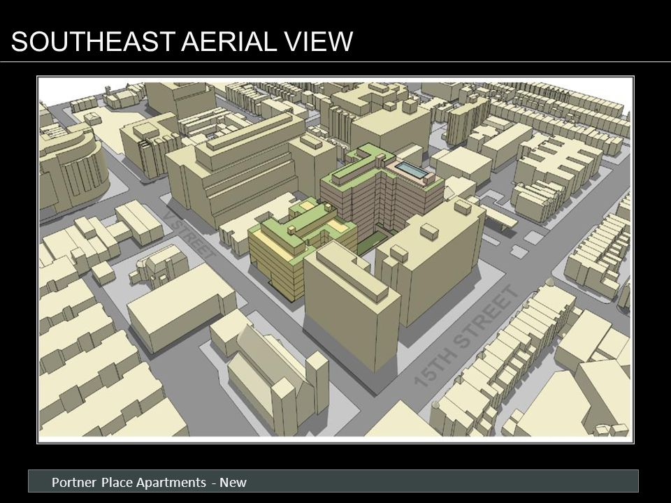 Portner Place Apartments - New SOUTHEAST AERIAL VIEW