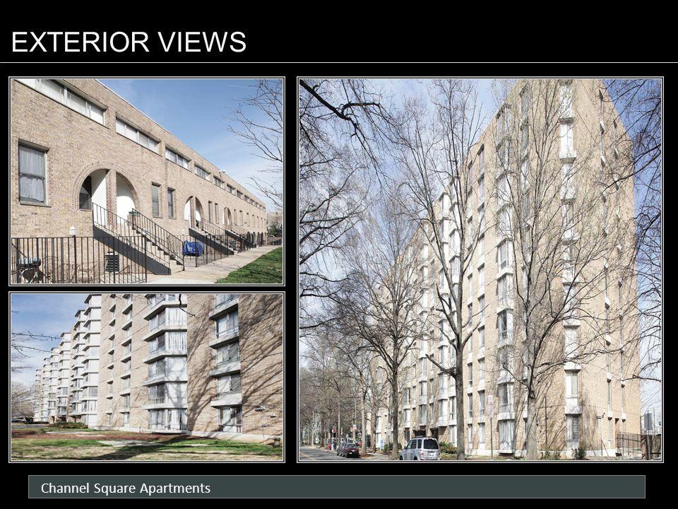 Channel Square Apartments EXTERIOR VIEWS