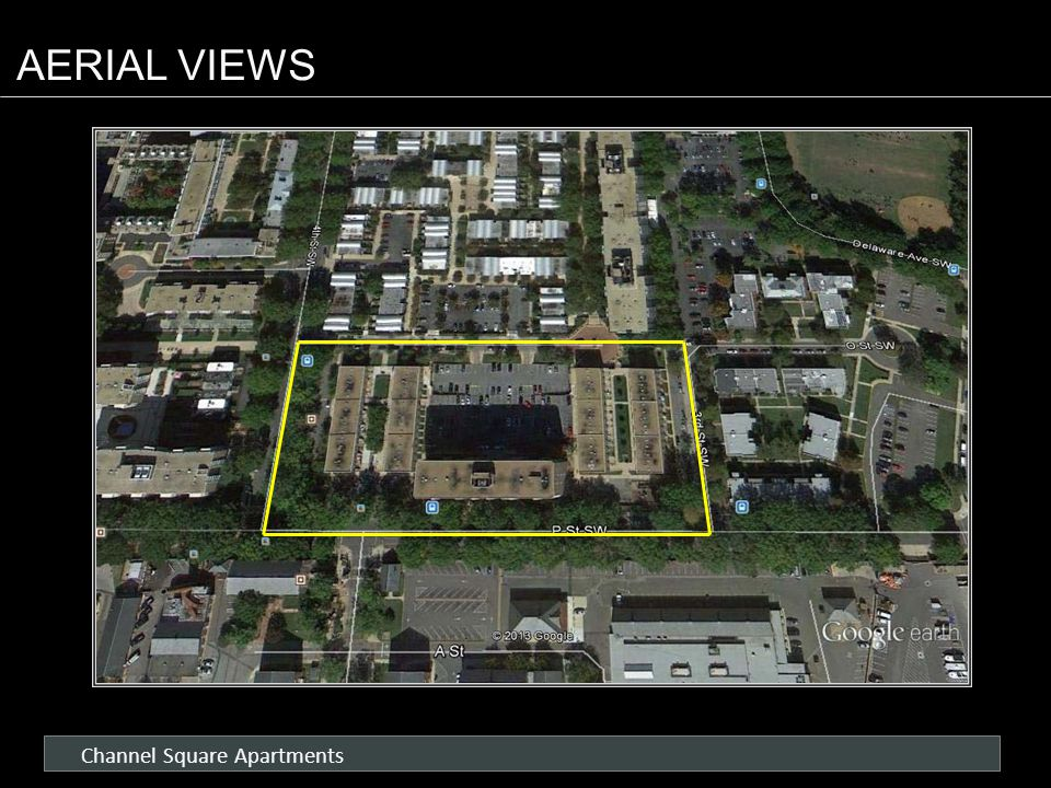 Channel Square Apartments AERIAL VIEWS