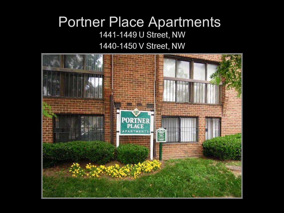Portner Place Apartments 1441-1449 U Street, NW 1440-1450 V Street, NW