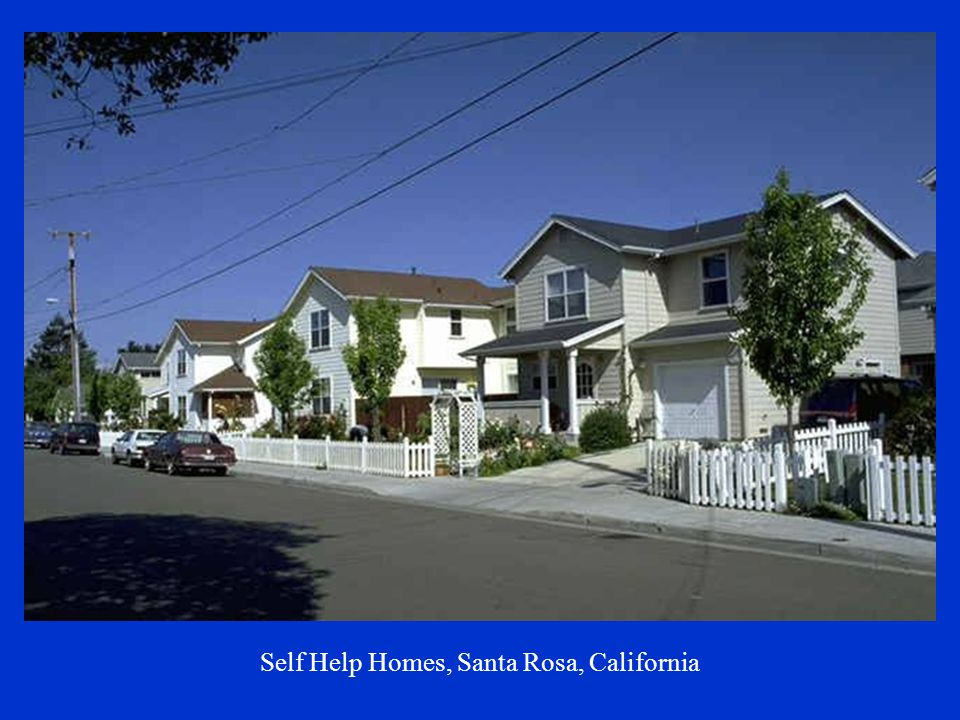 Self Help Homes, Santa Rosa, California