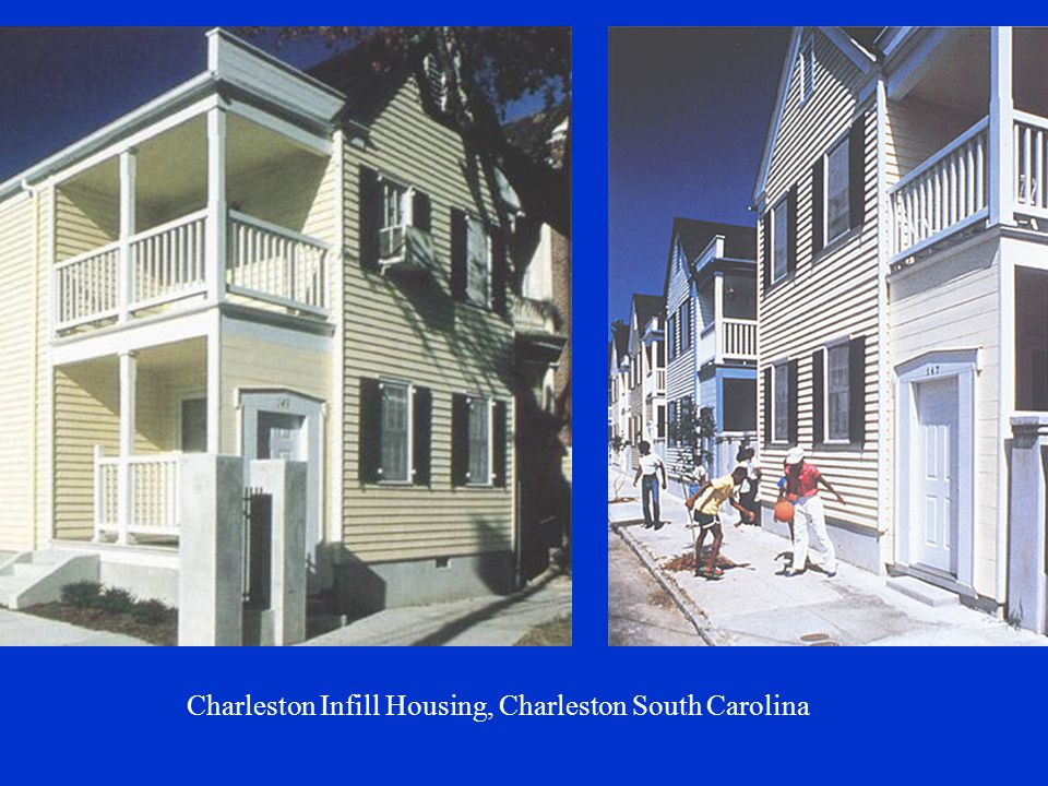Charleston Infill Housing, Charleston South Carolina