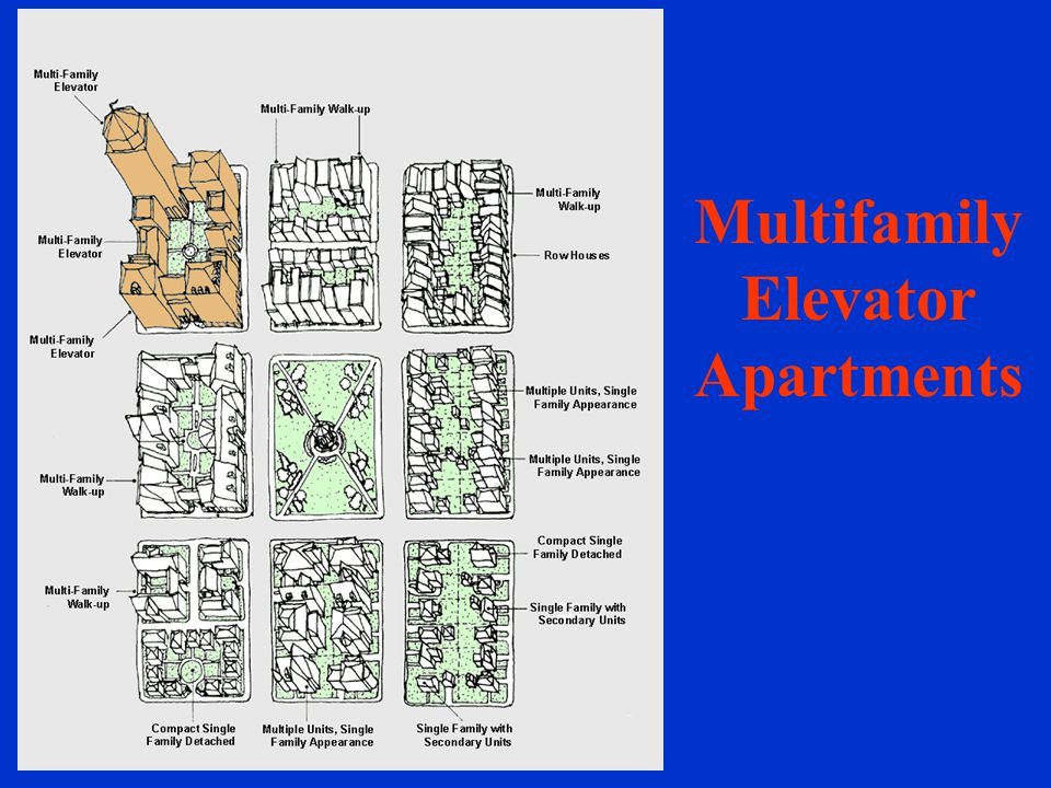 Multifamily Elevator Apartments