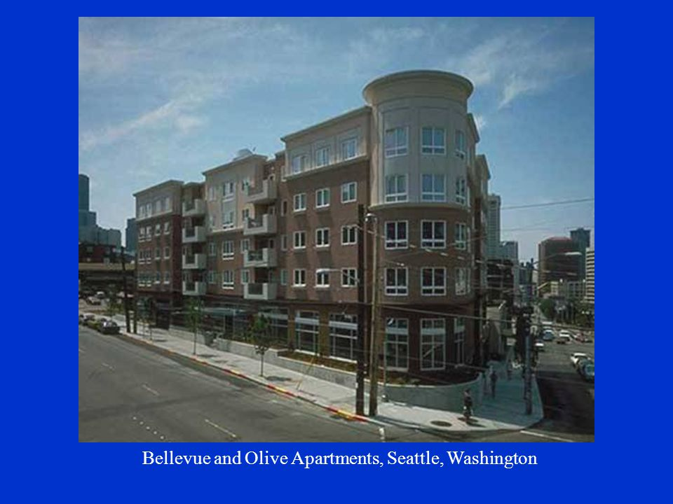 Bellevue and Olive Apartments, Seattle, Washington