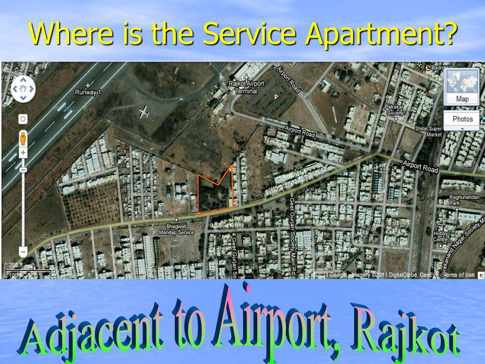 Where is the Service Apartment?