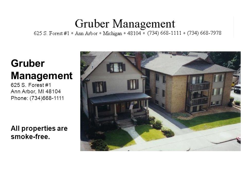 Gruber Management 625 S.