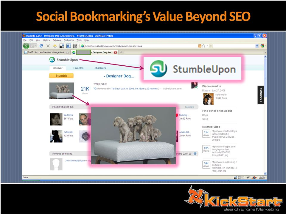 Social Bookmarkings Value Beyond SEO