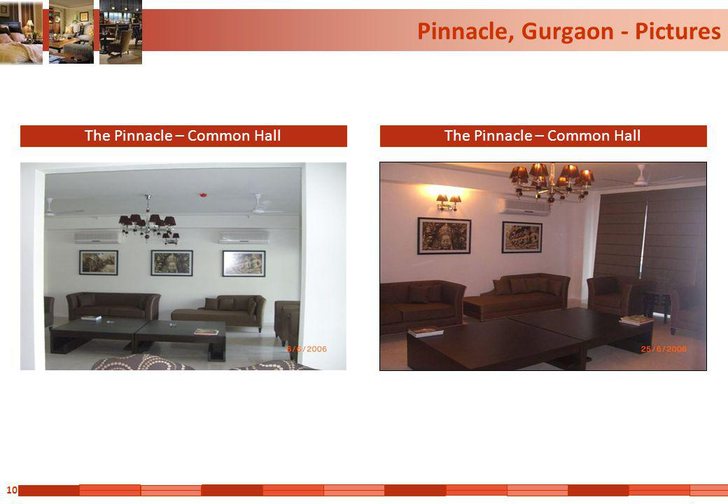 10 Pinnacle, Gurgaon - Pictures The Pinnacle – Common Hall