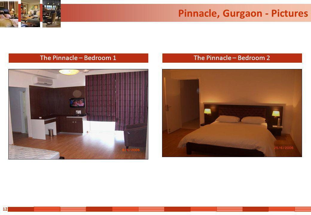 12 Pinnacle, Gurgaon - Pictures The Pinnacle – Bedroom 1The Pinnacle – Bedroom 2