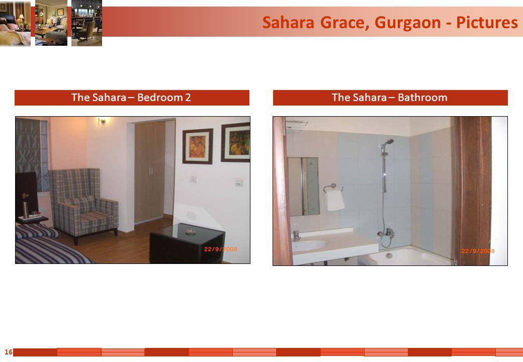 16 Sahara Grace, Gurgaon - Pictures The Sahara – Bedroom 2The Sahara – Bathroom