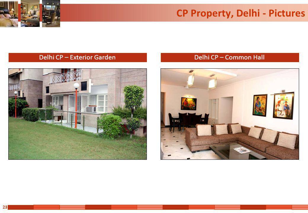 23 CP Property, Delhi - Pictures Delhi CP – Exterior GardenDelhi CP – Common Hall