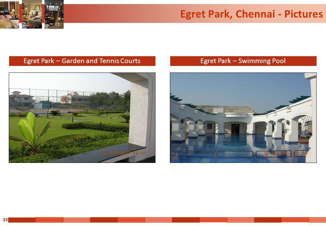 35 Egret Park, Chennai - Pictures Egret Park – Garden and Tennis CourtsEgret Park – Swimming Pool