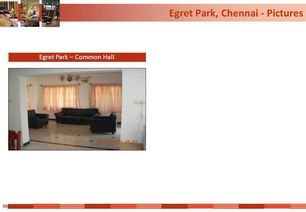 36 Egret Park, Chennai - Pictures Egret Park – Common Hall