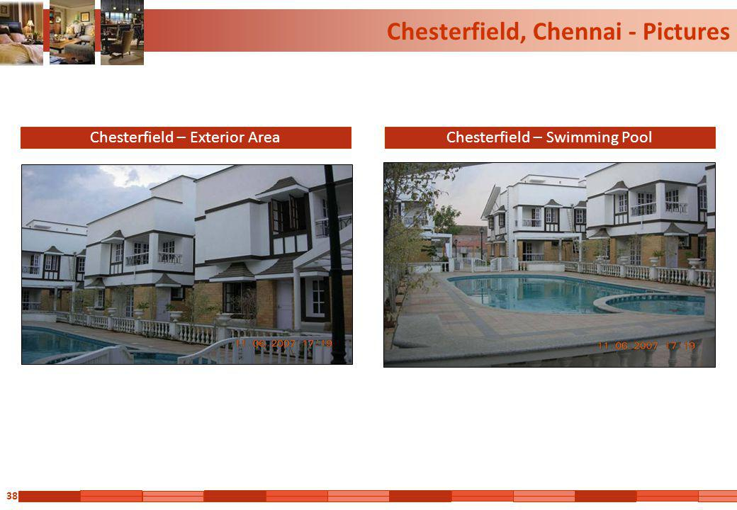 38 Chesterfield, Chennai - Pictures Chesterfield – Exterior AreaChesterfield – Swimming Pool