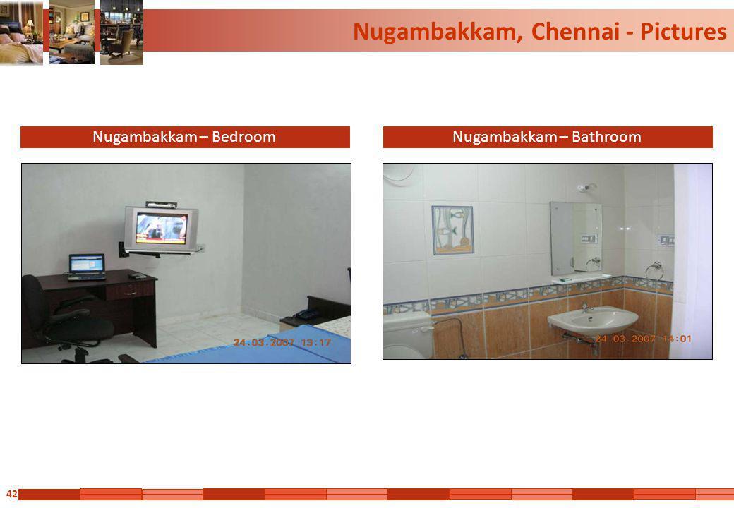 42 Nugambakkam, Chennai - Pictures Nugambakkam – BedroomNugambakkam – Bathroom