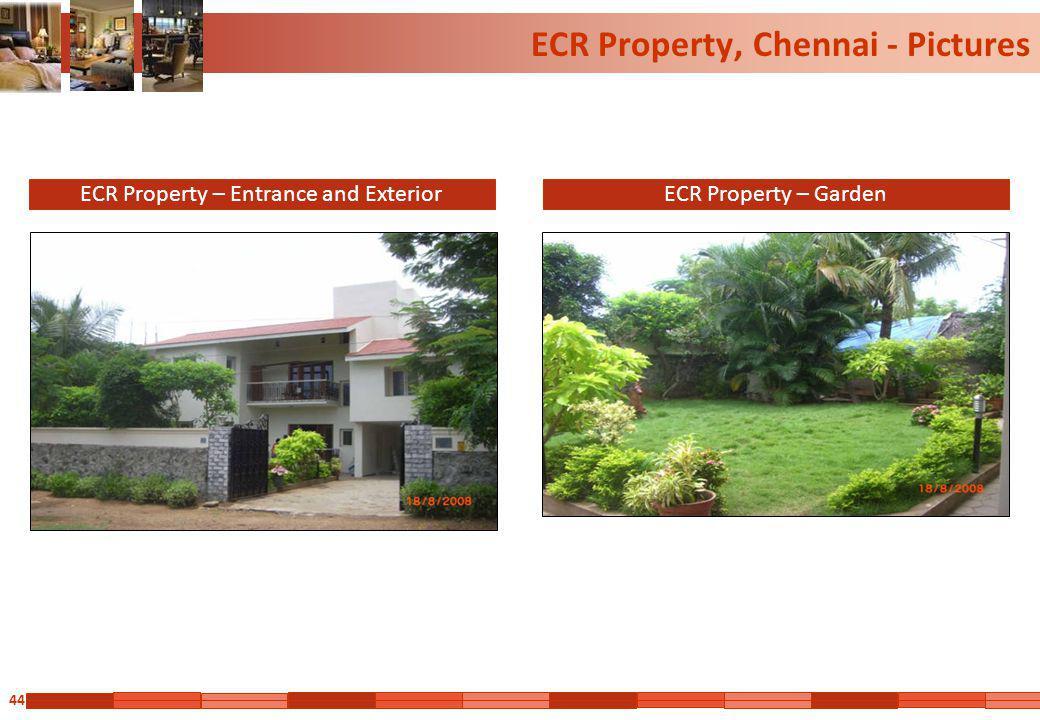 44 ECR Property, Chennai - Pictures ECR Property – Entrance and ExteriorECR Property – Garden
