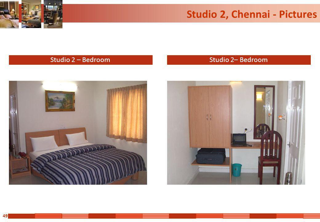49 Studio 2, Chennai - Pictures Studio 2 – Bedroom