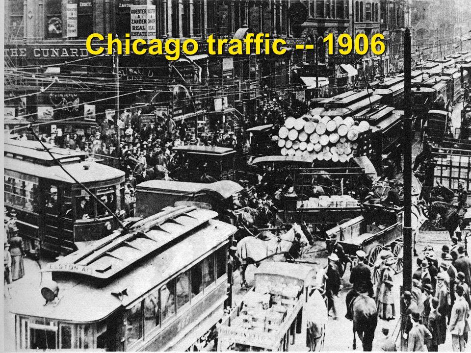 19 Chicago traffic -- 1906