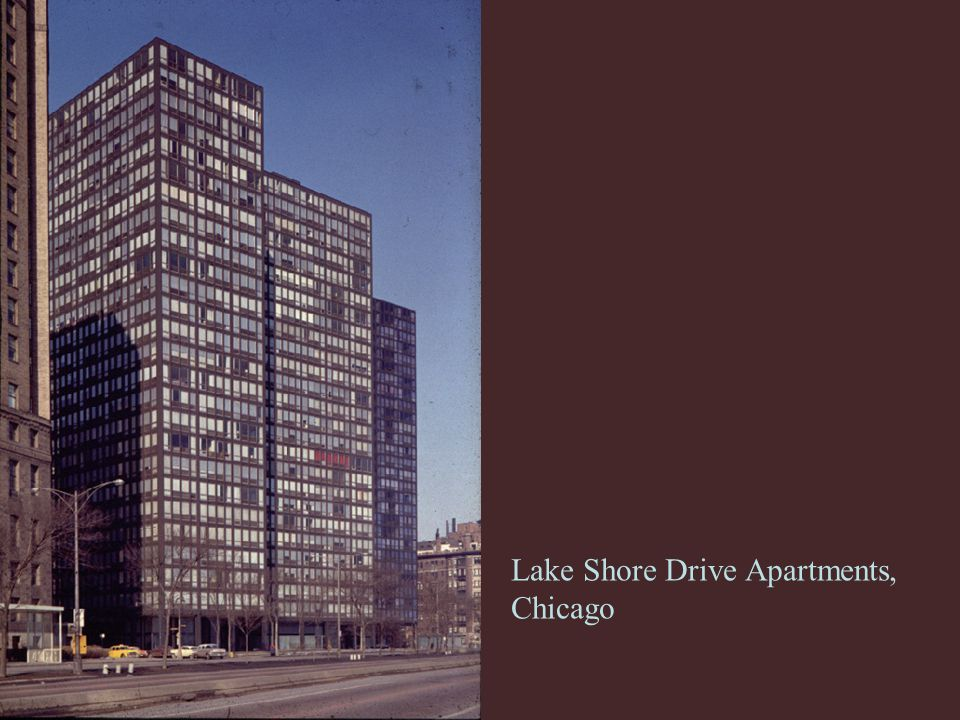 Lake Shore Drive Apartments, Chicago