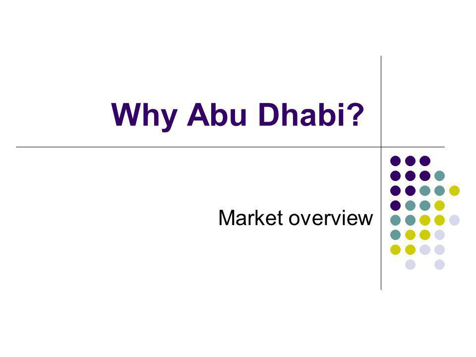 Why Abu Dhabi Market overview