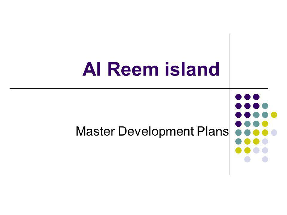 Al Reem island Master Development Plans