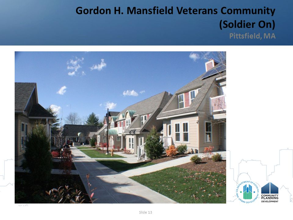 Gordon H. Mansfield Veterans Community (Soldier On) Pittsfield, MA Slide 13