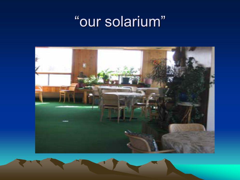 our solarium