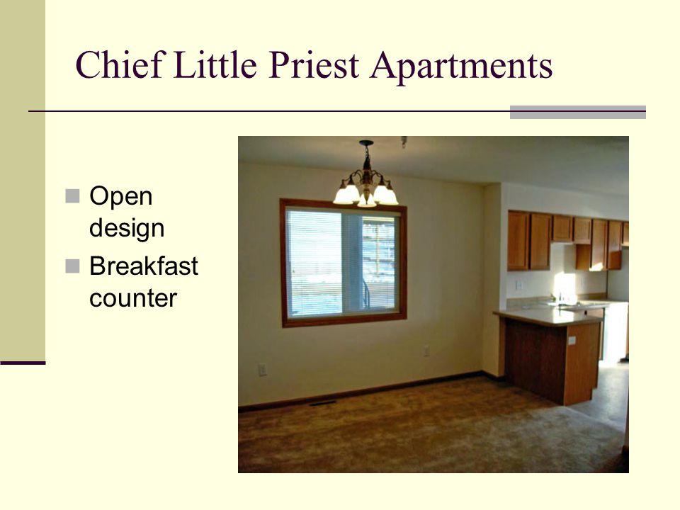 Chief Little Priest Apartments Open design Breakfast counter